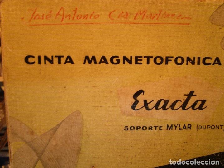 Varios objetos de Arte: pintura alicantina JOSE ANTONIO CIA CINTA AUDIO 1967 CON FOLLETO DIBUJOS EN FESTIVAL DE ALICANTE - Foto 7 - 27501174