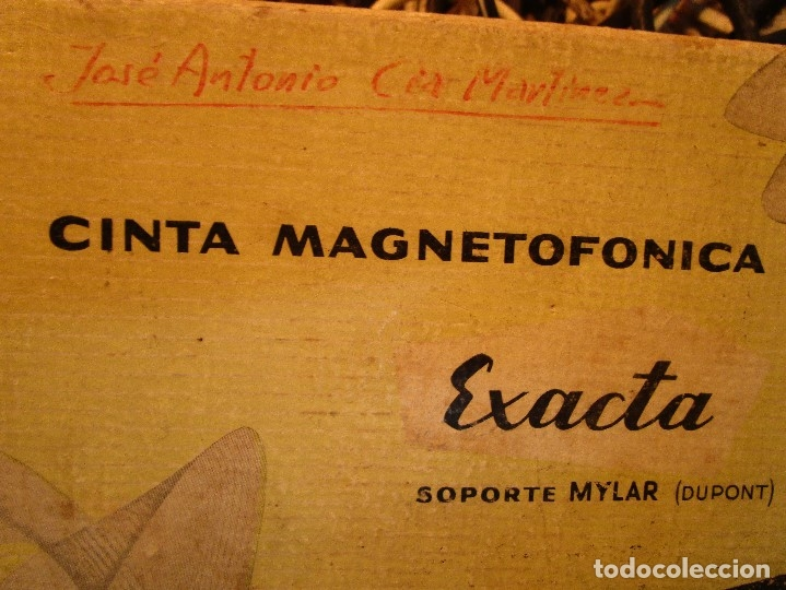 Varios objetos de Arte: pintura alicantina JOSE ANTONIO CIA CINTA AUDIO 1967 CON FOLLETO DIBUJOS EN FESTIVAL DE ALICANTE - Foto 4 - 27501174