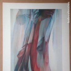 Art: JORDI ALUMÀ LÁMINA BALONCESTO SERIE SUITE OLÍMPICA N° 2 LOS ÁNGELES '84. Lote 136675970