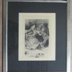 Varios objetos de Arte: ÉBRIO Y MUJER DESNUDA SOBRE LA MESA. Lote 137556862