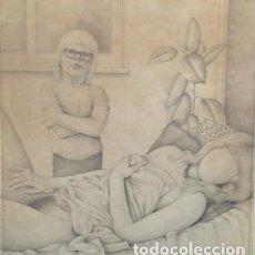 Varios objetos de Arte: MIKE J MYCOCK :THE STRANGE RELATIONSHIP:1975. Lote 138173410
