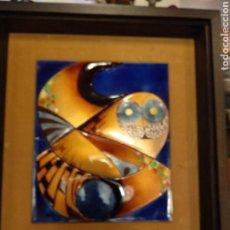 Varios objetos de Arte: CUADRO ESMALTE NEGRONI. Lote 138794358