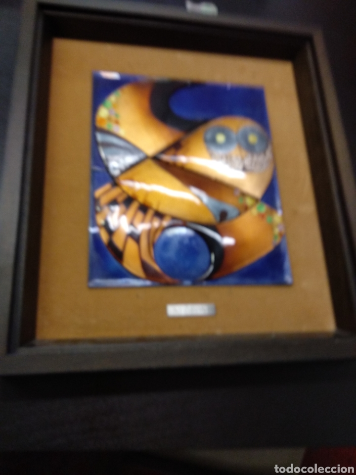 Varios objetos de Arte: Cuadro esmalte negroni - Foto 2 - 138794358