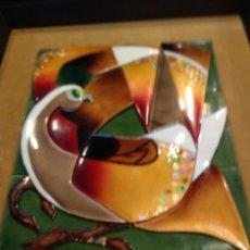 Varios objetos de Arte: CUADRO ESMALTE NEGRONI. Lote 138794633