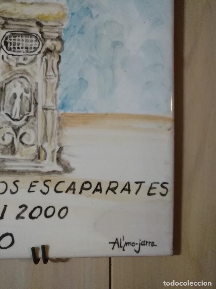 Varios objetos de Arte: azulejo ceramico pintado a mano concurso exornos cadiz ayuntamiento corpus christi al´mo-jarra - Foto 3 - 139108778
