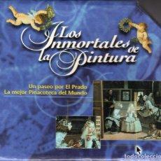 Varios objetos de Arte: LOS INMORTALES DE LA PINTURA. 3CD. MUSEO DEL PRADO.. Lote 139150462