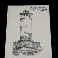 Varios objetos de Arte: PUEBLOS DEL ALTO ARAGÓN VISTOS POR JULIO GAVÍN MOYA. CARPETA NUMERO 6. CON 7 DIBUJOS. Lote 139820250