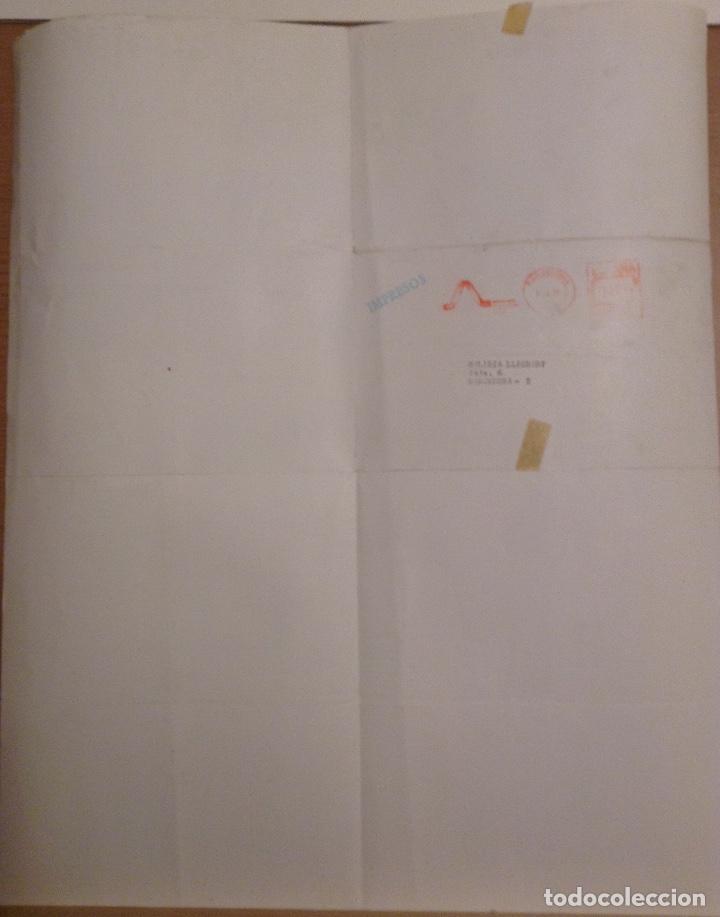 Varios objetos de Arte: MORET CARTEL EXPOSICIÓN GALERIA ADRIA 1976 - Foto 2 - 139892390