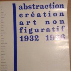 Varios objetos de Arte: CARTEL EXPOSICION ARTE NO FIGURATIVO GALERIA TRECE Y GSL JUANA MORDO 1974. Lote 139894754
