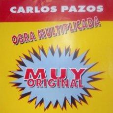 Varios objetos de Arte: CARLOS PAZOS CARTEL DE EXPOSICIÓN EN CUENCA. Lote 140561402