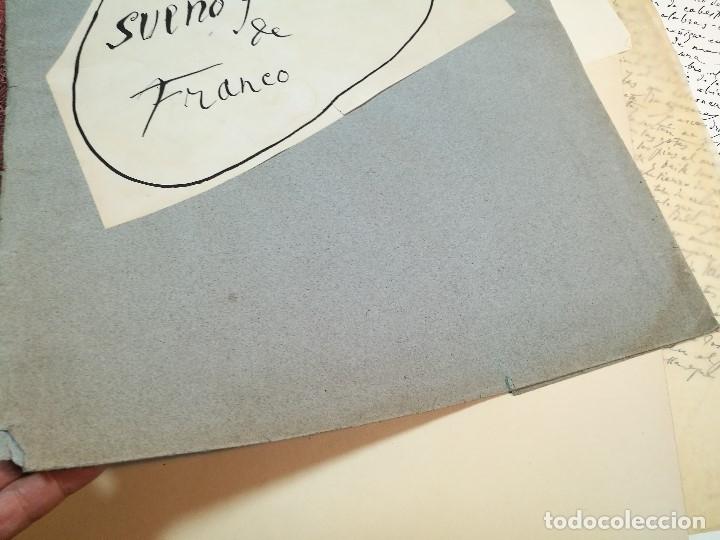 Varios objetos de Arte: PORTAFOLIO Y POEMA FANDANGO DE LAS LECHUZAS--SUEÑO Y MENTIRA DE FRANCO. GUERNICA 1937..PICASSO-REF-D - Foto 6 - 141135290