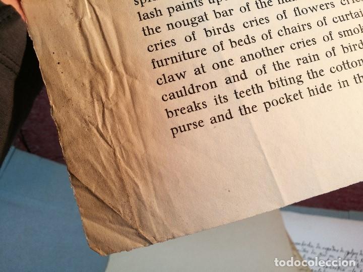 Varios objetos de Arte: PORTAFOLIO Y POEMA FANDANGO DE LAS LECHUZAS--SUEÑO Y MENTIRA DE FRANCO. GUERNICA 1937..PICASSO-REF-D - Foto 11 - 141135290