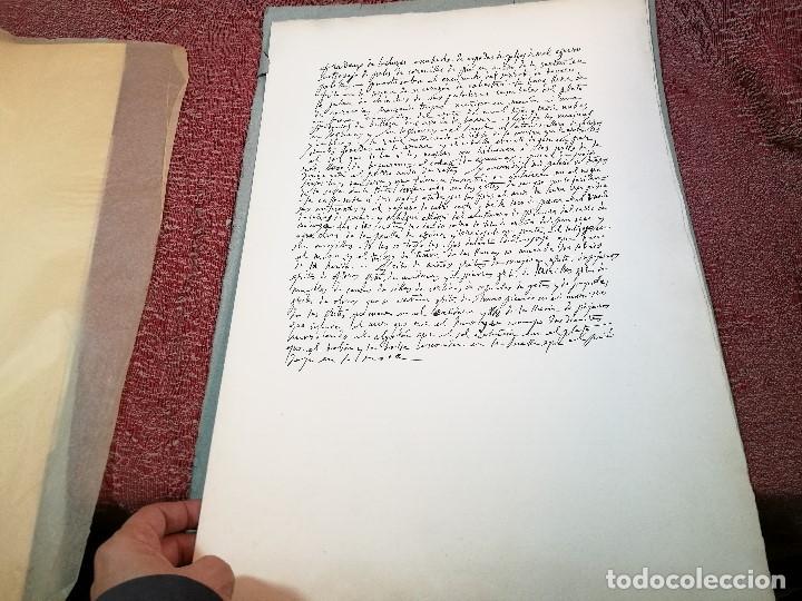 Varios objetos de Arte: PORTAFOLIO Y POEMA FANDANGO DE LAS LECHUZAS--SUEÑO Y MENTIRA DE FRANCO. GUERNICA 1937..PICASSO-REF-D - Foto 15 - 141135290
