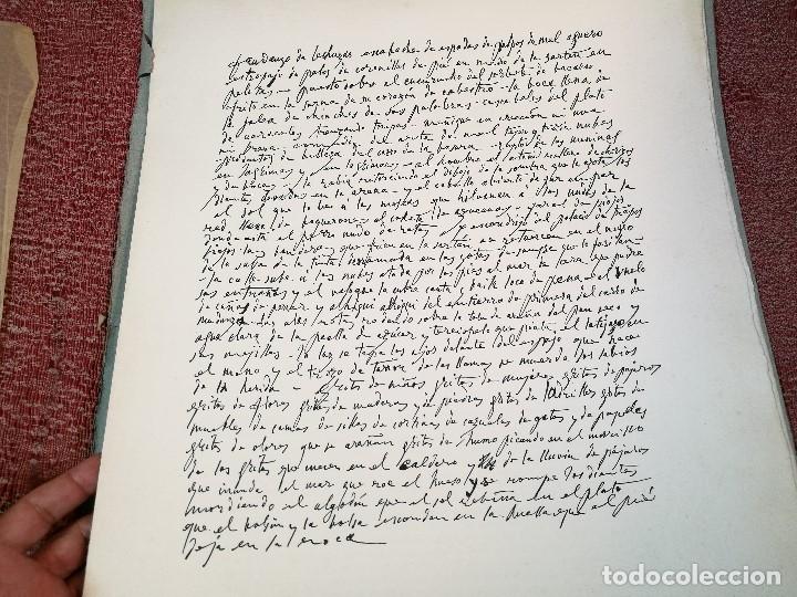 Varios objetos de Arte: PORTAFOLIO Y POEMA FANDANGO DE LAS LECHUZAS--SUEÑO Y MENTIRA DE FRANCO. GUERNICA 1937..PICASSO-REF-D - Foto 16 - 141135290