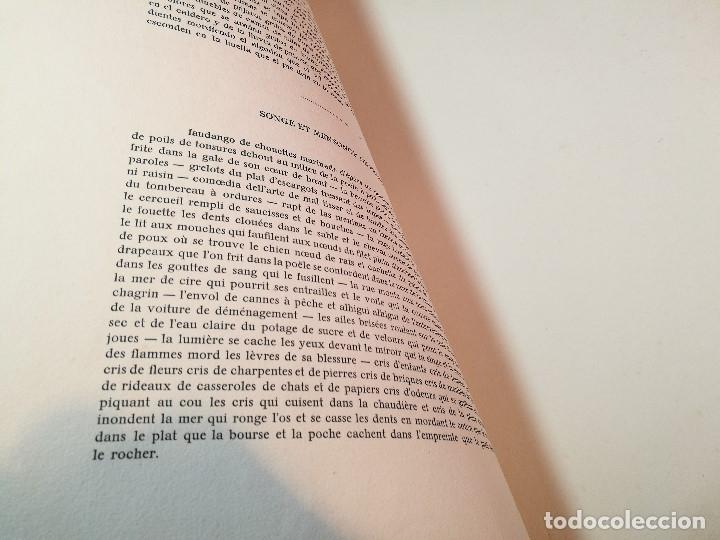 Varios objetos de Arte: PORTAFOLIO Y POEMA FANDANGO DE LAS LECHUZAS--SUEÑO Y MENTIRA DE FRANCO. GUERNICA 1937..PICASSO-REF-D - Foto 17 - 141135290