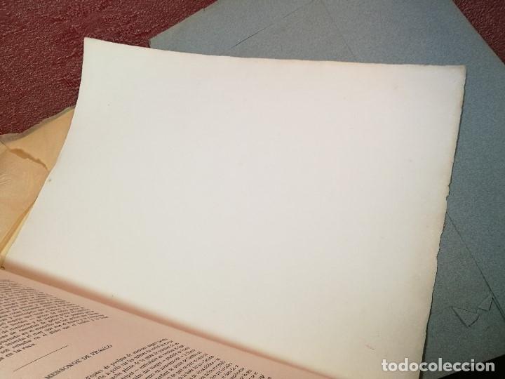 Varios objetos de Arte: PORTAFOLIO Y POEMA FANDANGO DE LAS LECHUZAS--SUEÑO Y MENTIRA DE FRANCO. GUERNICA 1937..PICASSO-REF-D - Foto 19 - 141135290
