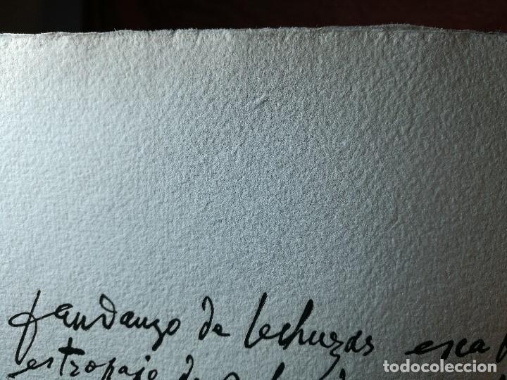 Varios objetos de Arte: PORTAFOLIO Y POEMA FANDANGO DE LAS LECHUZAS--SUEÑO Y MENTIRA DE FRANCO. GUERNICA 1937..PICASSO-REF-D - Foto 21 - 141135290