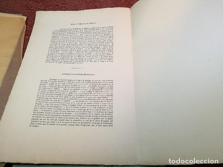 Varios objetos de Arte: PORTAFOLIO Y POEMA FANDANGO DE LAS LECHUZAS--SUEÑO Y MENTIRA DE FRANCO. GUERNICA 1937..PICASSO-REF-D - Foto 28 - 141135290