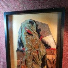 Varios objetos de Arte: OBRA DE EDUARDO MILLARES SALL FIRMADO BAJO SU SEUDÓNIMO CHO-JUAÁ, AÑO 1977, CATALOGADA. Lote 141180110