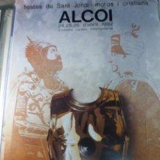 Varios objetos de Arte: ALCOY CARTEL DE FIESTAS.1992. Lote 141499706