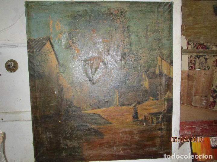 Varios objetos de Arte: ENORME PINTURA ANTIGUA OLEO LIENZO SIGLO XIX XVIII 150 X 120 - Foto 16 - 82969376