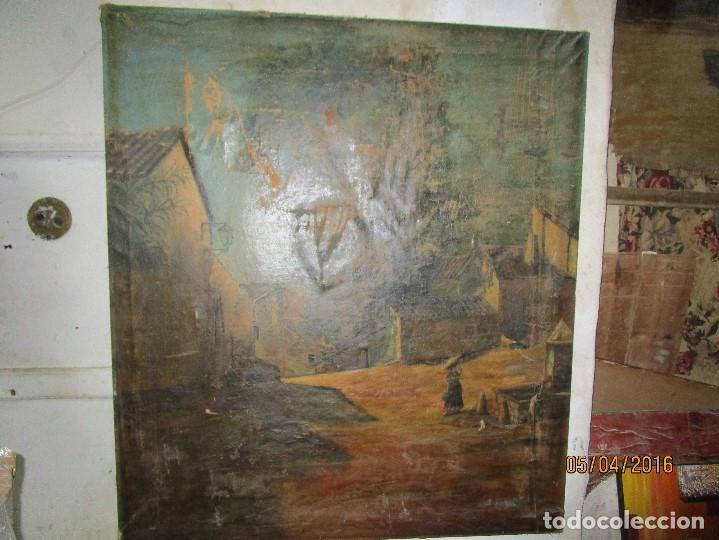 Varios objetos de Arte: ENORME PINTURA ANTIGUA OLEO LIENZO SIGLO XIX XVIII 150 X 120 - Foto 15 - 82969376