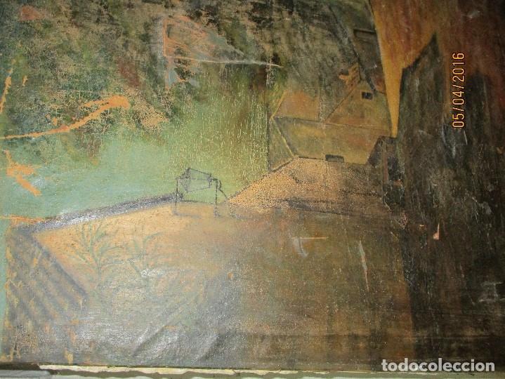 Varios objetos de Arte: ENORME PINTURA ANTIGUA OLEO LIENZO SIGLO XIX XVIII 150 X 120 - Foto 3 - 82969376