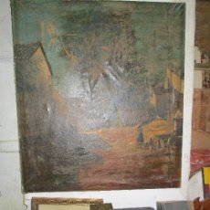 Varios objetos de Arte: ENORME PINTURA ANTIGUA OLEO LIENZO SIGLO XIX XVIII 150 X 120. Lote 82969376