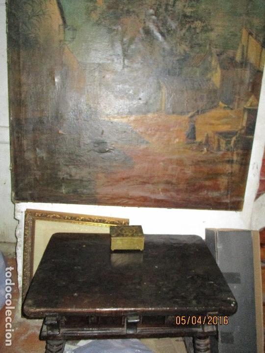 Varios objetos de Arte: ENORME PINTURA ANTIGUA OLEO LIENZO SIGLO XIX XVIII 150 X 120 - Foto 2 - 82969376