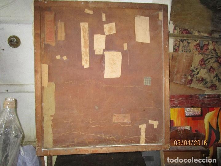 Varios objetos de Arte: ENORME PINTURA ANTIGUA OLEO LIENZO SIGLO XIX XVIII 150 X 120 - Foto 5 - 82969376