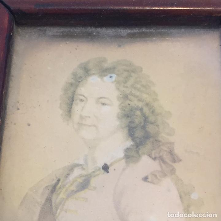 Varios objetos de Arte: 2 Antiguos retratos - Foto 3 - 142050517