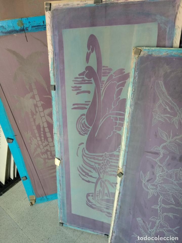 Varios objetos de Arte: GRAN LOTE: 29 Pantallas serigráficas / serigrafía / SOLO MADRID - Foto 2 - 142610114