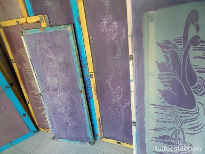 Varios objetos de Arte: GRAN LOTE: 29 Pantallas serigráficas / serigrafía / SOLO MADRID - Foto 3 - 142610114