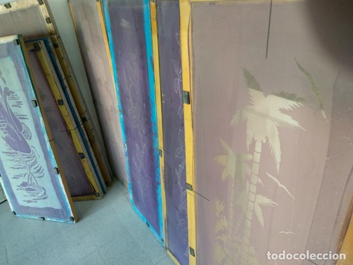 Varios objetos de Arte: GRAN LOTE: 29 Pantallas serigráficas / serigrafía / SOLO MADRID - Foto 4 - 142610114