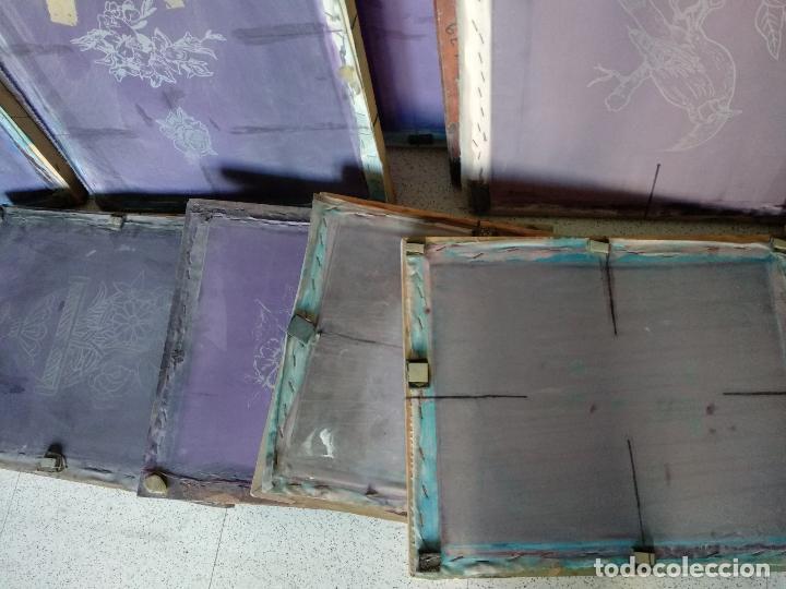 Varios objetos de Arte: GRAN LOTE: 29 Pantallas serigráficas / serigrafía / SOLO MADRID - Foto 10 - 142610114