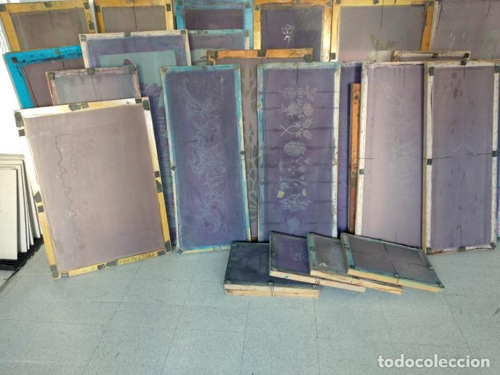 Varios objetos de Arte: GRAN LOTE: 29 Pantallas serigráficas / serigrafía / SOLO MADRID - Foto 11 - 142610114