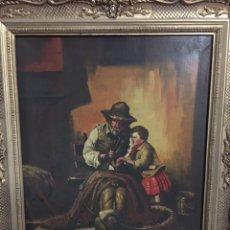 Varios objetos de Arte: PINTURA NO FIRMADA. Lote 142624998