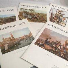 Varios objetos de Arte: EDICIONES DE ARTE CAJA DE AHORROS DE ZARAGOZA-5 CARPETAS CON UN TOTAL DE 17 LAMINAS VER FOTOS. Lote 143395094