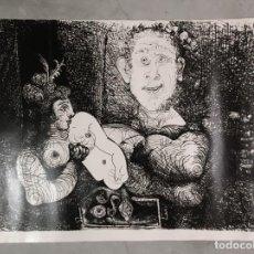 Varios objetos de Arte: AMPLIACIÓN FOTOGRÁFICA DE GRABADO DE PICASSO. 100 X 130 CM.. Lote 143403650