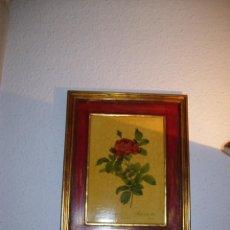 Varios objetos de Arte: PRECIOSO CUADRO AÑOS 60 FIRMADO. Lote 143544954