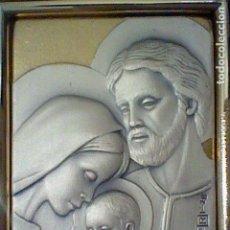 Varios objetos de Arte: MARIA JOSE JESUS IMAGEN PLATA 925 FIRMA AUTOR CUADRITO . Lote 143863094