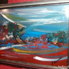 Varios objetos de Arte: PAISAJE FDO. M.BARREIROS. Lote 143958170