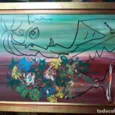 Varios objetos de Arte: BODEGÓN FDO M.BARREIROS . Lote 143958518