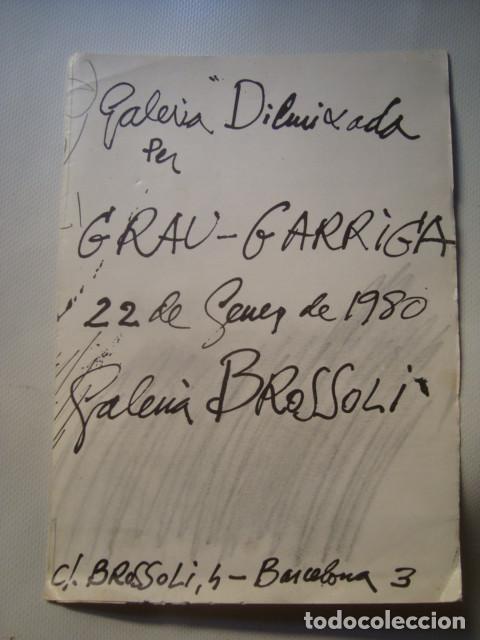 GALERIA DIBUIXADA PER GRAU-GARRIGA (GALERIA BROSSOLI, BARCELONA, 1980). JOSEP ARNAU PUIG (Arte - Varios Objetos de Arte)