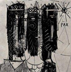 Varios objetos de Arte: EMILIA XARGAY | POSTAL NAVIDEÑA (1958) - GRUPO PARPALLÓ - JACINTA GIL. Lote 144355514