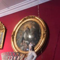 Varios objetos de Arte: INMACULADA ESCUELA FRANCESA SIGLO XIX. Lote 144912722