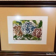 Varios objetos de Arte: PINTURA FLORAL. Lote 145280166