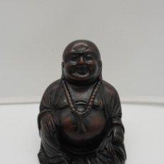 Varios objetos de Arte: IMAGEN DE BUDA ANTIGUO EN PIEDRA O SÍMIL HECHO A MANO EN NEPAL .. Lote 145296410