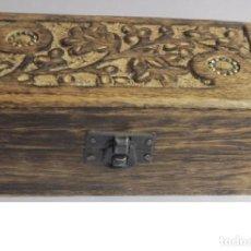 Varios objetos de Arte: CAJA DE MADERA - HECHA A MANO. Lote 145548406