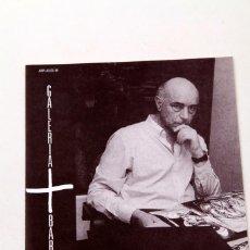 Varios objetos de Arte: SAURA - GALERÍA BARCELONA 1989. Lote 145793558